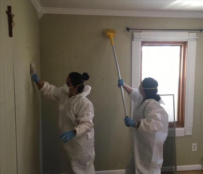 Scrubbing Walls For Soot