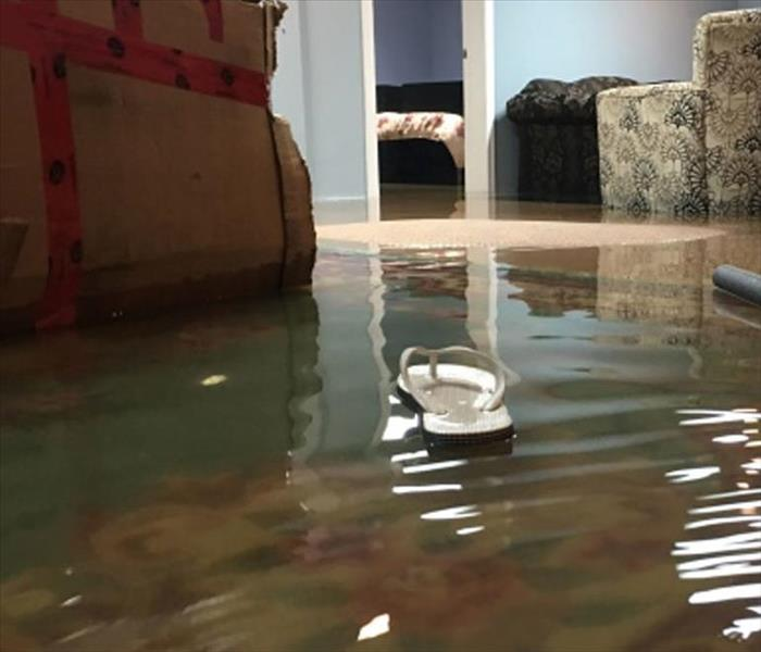 Water Damage April showers bring flooded basements